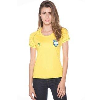 Camisa Super Bolla Brasil Ultimate Feminino 5b7f9575ccbf1