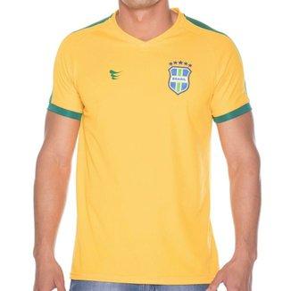Camisa Super Bolla Brasil Pro S Nº Masculina 442d9ac76cecf