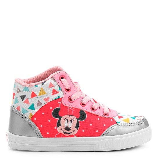 a0cbaf7d97b Tênis Infantil Cano Alto Disney Minnie Feminina - Compre Agora ...
