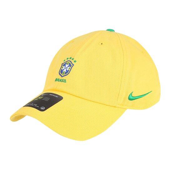 Boné Nike CBF Aba Curva H86 - Compre Agora  b5718e00b69
