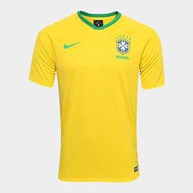 Camisa Nike Seleção Brasil I 2013 s nº - Jogador - Compre Agora ... ed2dce9c4bad9