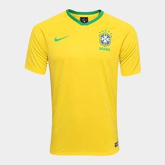 16ce3994a26aa Camisa Seleção Brasil I 2018 s n° - Torcedor Estádio Nike Masculina