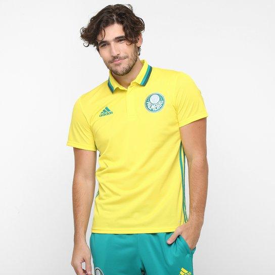 Camisa Polo Adidas Palmeiras Viagem - Compre Agora  9a09ee4c31e35