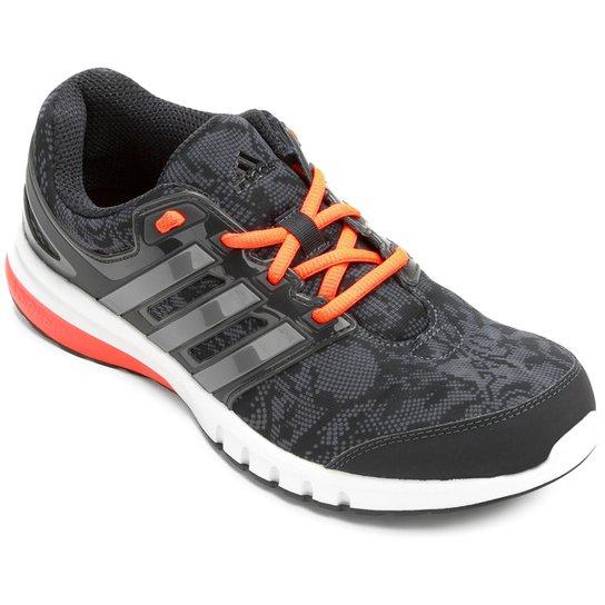 5ae821e3117 Tênis Adidas Galaxy Elite - Chumbo+Laranja