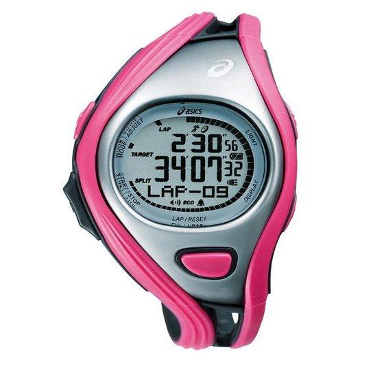 0ef7d1bad8c Relógio de Pulso ASICS Challenge Regular - Prata e Rosa - Compre ...