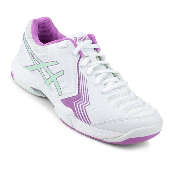 ... Tênis Asics Gel Game 6 Feminino - Branco e Lilás - Compre Agora . 243d71b4218bf