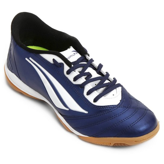 abd7c645db Chuteira Futsal Penalty Brasil 70 R1 Masculina - Marinho+Branco