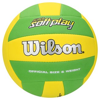 233c67aabb Compre Bola de Volei Wilson Soft Play Colorida Online