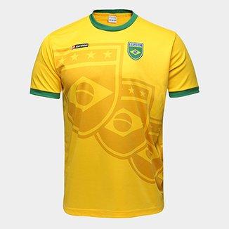 Camisa Brasil 1994 n° 11 Lotto Masculina fbd3a92a317d2