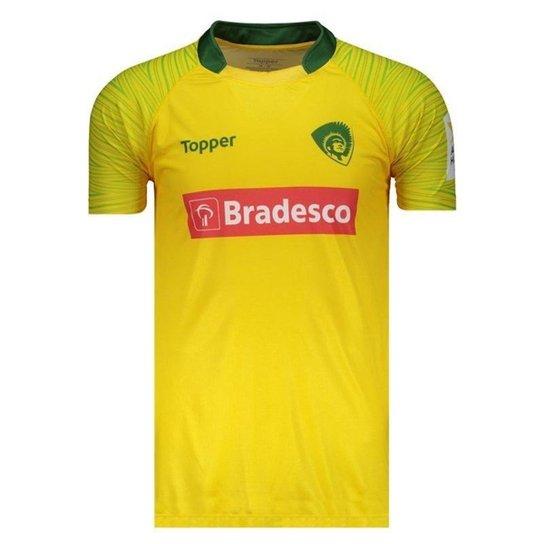 67f83a7ef Camisa Topper Seleção Brasileira Rugby 1 2017 Mas - Compre Agora ...