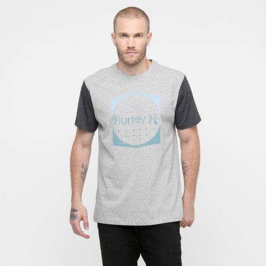 59e3eeec75cdb Camiseta Hurley Connected - Cinza+Chumbo ...