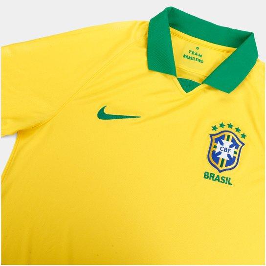 a5217e686 ... Camisa Seleção Brasileira I 19 20 s n° - Torcedor Nike Masculina -