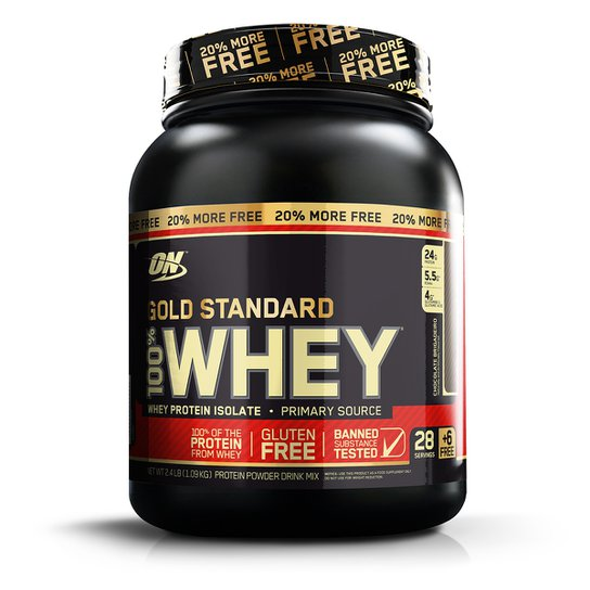 f96f97c1d Whey Protein 100% Whey Gold Standard 20% More FREE 1.09kg - Optimum  Nutrition