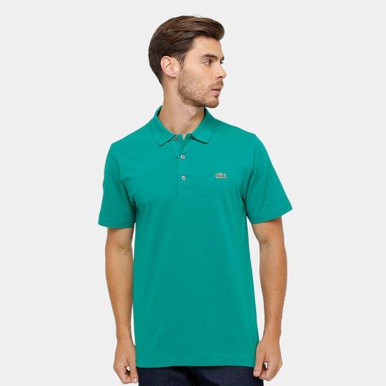 d5ef7b7087 Camisa Polo Lacoste Super Light - Verde Limão e Verde Água - Compre ...
