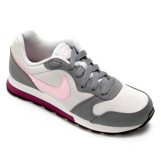 7a1bfc0cc9a Tênis Infantil Nike Md Runner 2 - Rosa e Cinza - Compre Agora