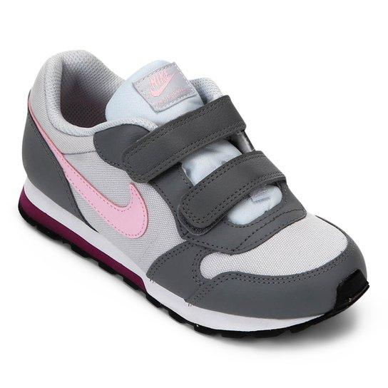 9973309af78b3 Tênis Infantil Nike Md Runner 2 Feminino - Rosa e Cinza | Netshoes
