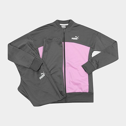 Conjunto Puma Classic Tricot Suit Feminino