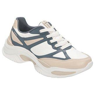 6a1330dd16d Tênis Azaleia Chunky Sneaker Feminino