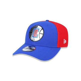 eb3394c1f2cfa Bone 3930 New Era Los Angeles Clippers NBA Aba Curva
