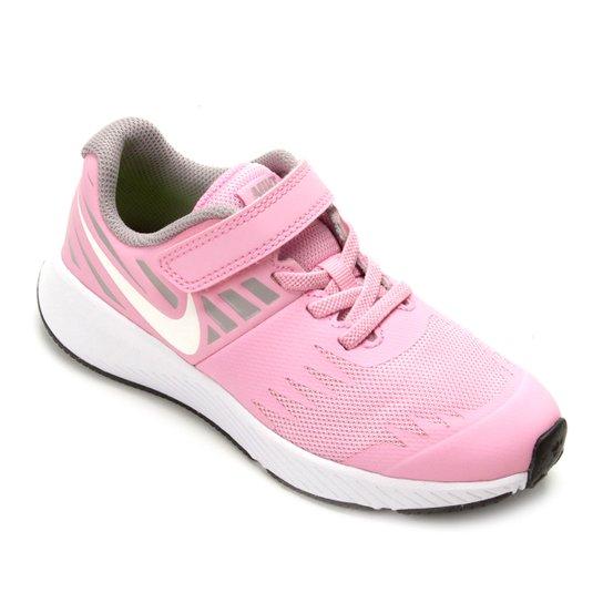2626e1e766 Tênis Infantil Nike Star Runner Feminino - Rosa e Cinza | Netshoes