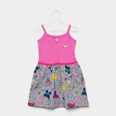 Vestido Infantil For Girl Estampado