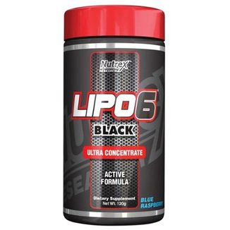 Lipo 6 Black Powder Ultra Concentrate 120g Exclusivo - Nutrex