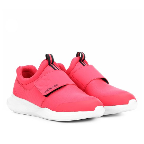 c22280068c Tênis Petite Jolie Loop Feminino - Pink - Compre Agora