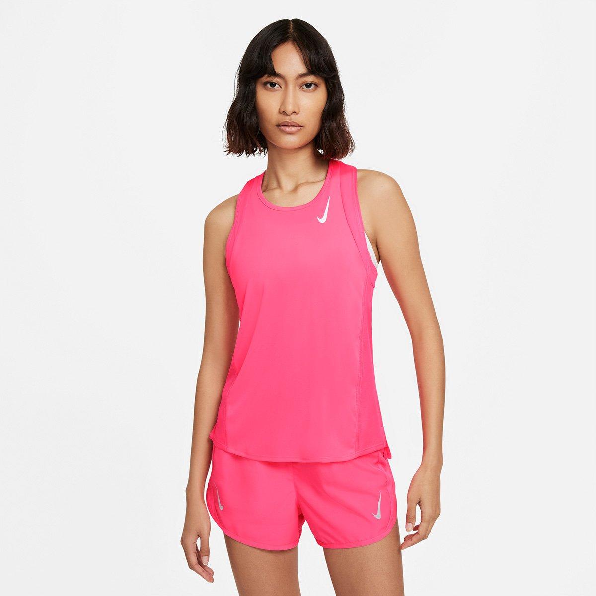 Regata Nike Dri-fit Race Singlet Feminina