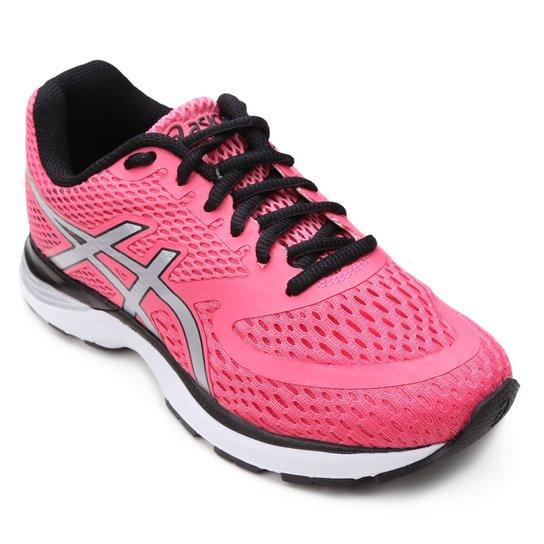 305e57349b9 Tênis Infantil Asics Gel Pulse Running - Pink e Prata - Compre Agora ...