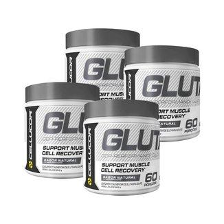 4X Glutamina Cellucor (300G) - Cellucor