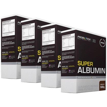 4x Super Albumin 500g - Probiótica
