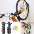 4x Suporte Parede Vertical Gancho Para Pendurar Bicicleta