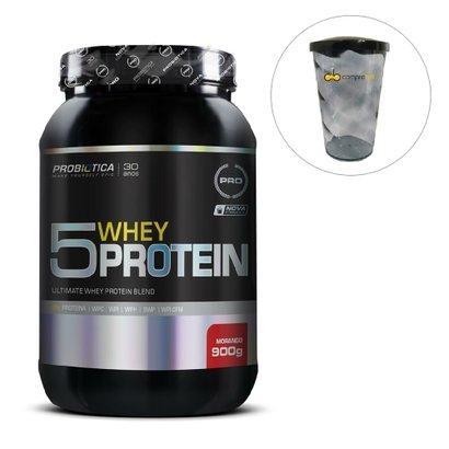 5 Whey Protein 900g Probiótica Pro + Shakeira
