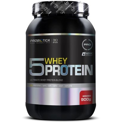 5 Whey Protein 900g – Probiótica
