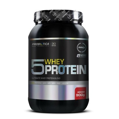 5 Whey Protein Pro 900g – Probiótica Pro