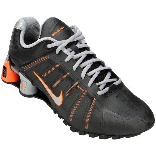 the best attitude f07a1 2b5c6 Tênis Nike Shox O´Leven - Preto+Laranja