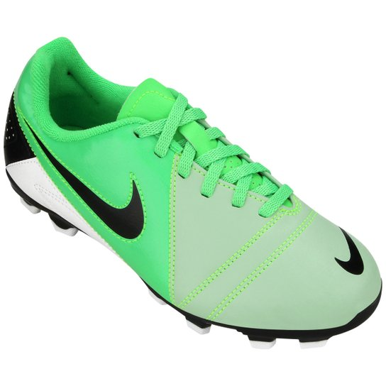... undefinedLoading zoom another chance 11402 695aa  Chuteira Nike CTR360  Enganche 3 FG Infantil - Verde Limão+Preto classic styles 41565 9f5ea ... 06edabf568475