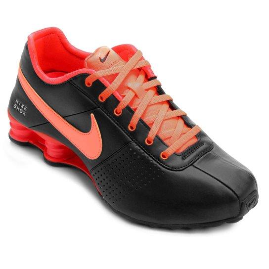 half off b89be 1fab1 Tênis Nike Shox Deliver - Preto+Laranja