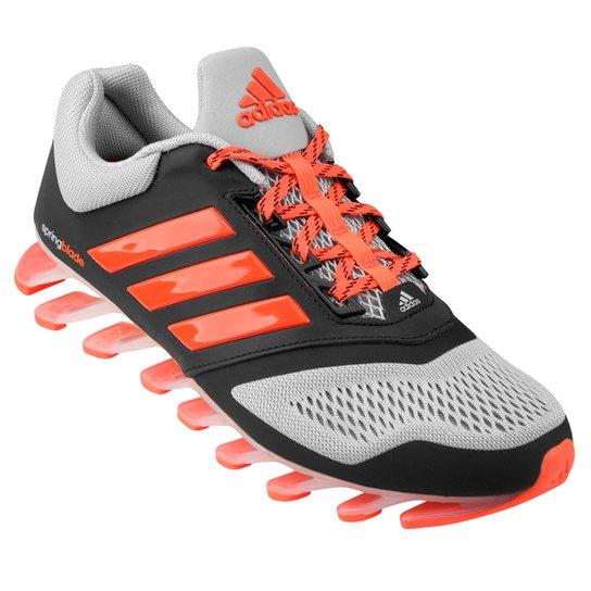 e80f83244 Tênis Adidas Springblade 2 Masculino - Preto+Laranja