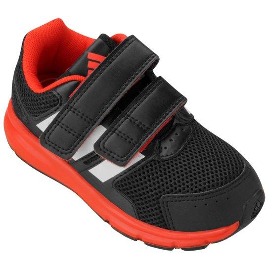 72514720975 Tênis Adidas LK Sport Infantil - Preto+Vermelho