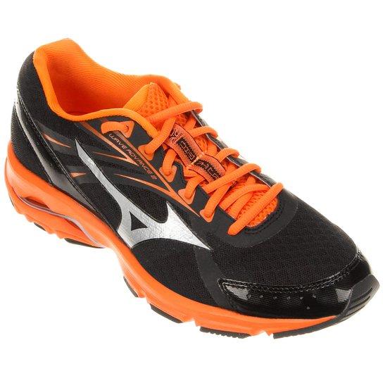 separation shoes fad6f 389c7 Tênis Mizuno Wave Advance 2 Masculino - Preto+Laranja