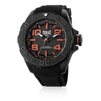 10641d6820f Relógio Pulso Everlast Force Caixa Abs Pulseira Silicone