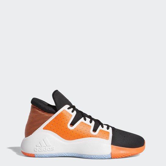 59ba423de7 Tênis Pro Vision Adidas Masculino - Preto e Laranja | Netshoes