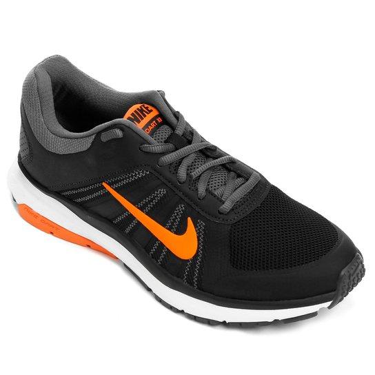 a7ae99e4ce3 Tênis Nike Dart 12 MSL Masculino - Preto e Laranja - Compre Agora ...