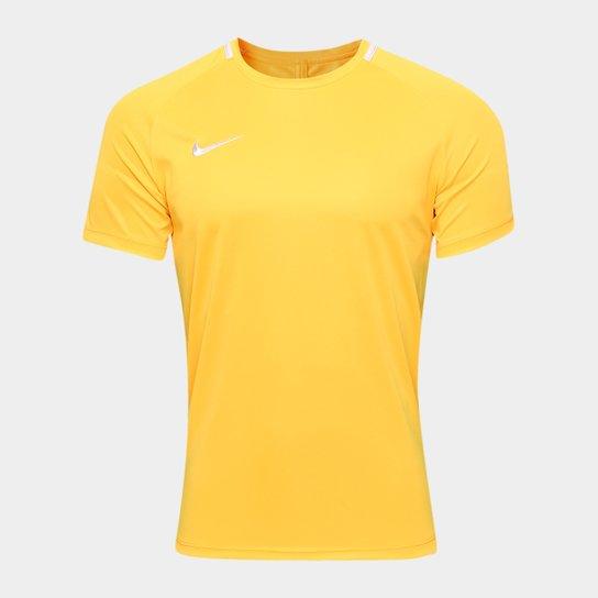 665df53f75446 Camisa Nike Academy Masculina - Laranja e Cinza - Compre Agora ...