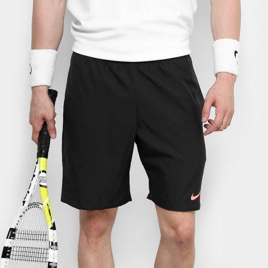 Short Nike Dry 9 Polegadas Masculino - Preto e Laranja - Compre ... f3cb7be0714e5
