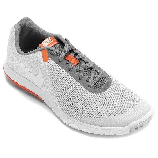 856b1e0bf96 Tênis Nike Flex Experience Rn 6 Masculino - Cinza e Branco - Compre ...