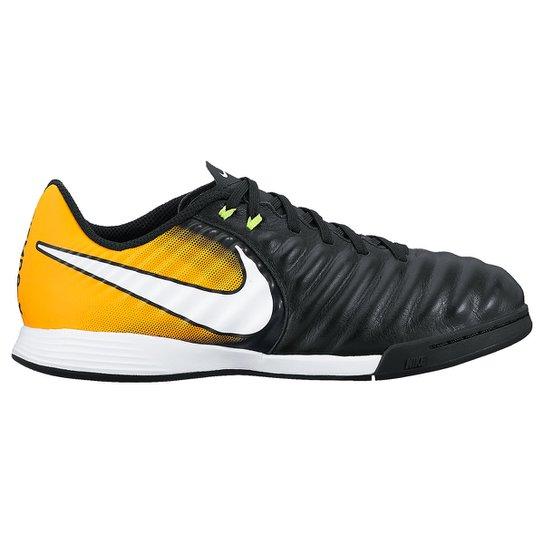 51dd39c6318a3 Chuteira Futsal Infantil Nike Tiempo Ligera IC - Compre Agora