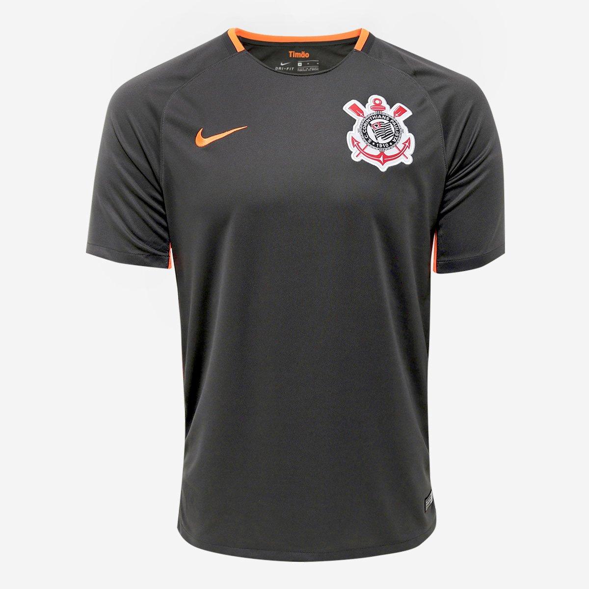 Camisa Corinthians III 17 18 s n° - Torcedor Nike Masculina 92060f06a1f98
