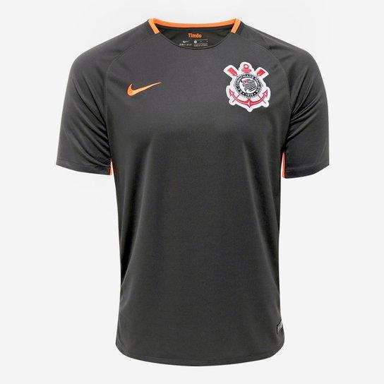 5bd5917f8a063 Camisa Corinthians III 17 18 s n° - Torcedor Nike Masculina - Grafite